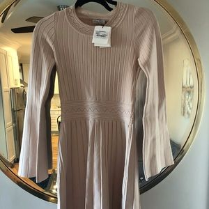 Sandro light pink dress